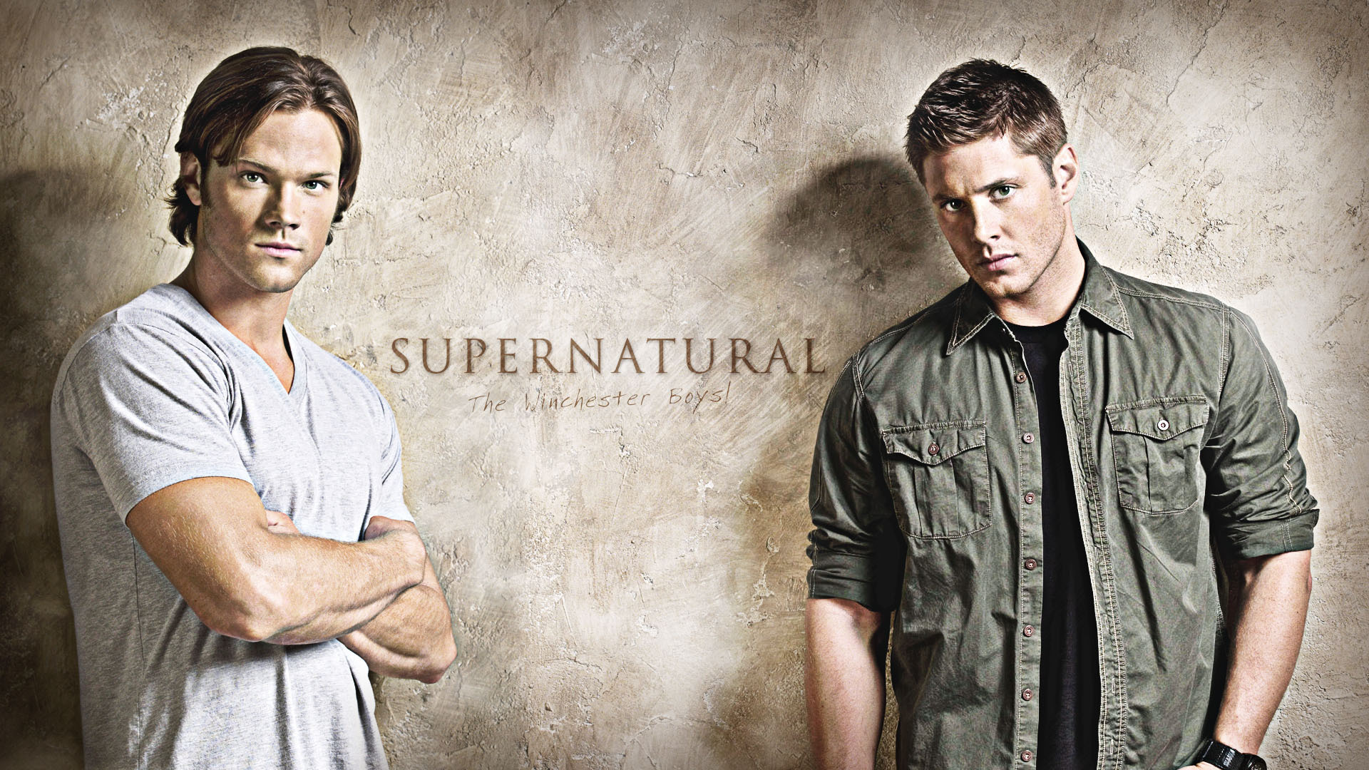 Sam and Dean, respectively.